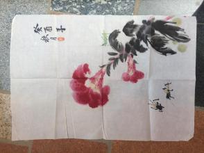 《鸡冠花》癸酉年秋月戴金宝--原画