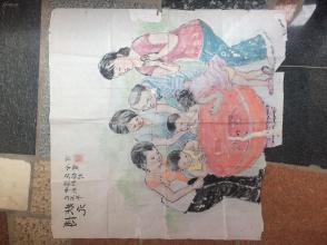 《博状元》已丑年中秋博饼民俗村金宝写--原画