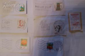 1元清仓  外国邮票邮戳7枚  第二组