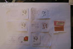1元清仓  外国邮票邮戳7枚