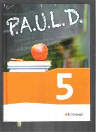 |16开本精装本| 德文原版文科教科书 P.A.U.L.D 5 图文并茂,称重880克