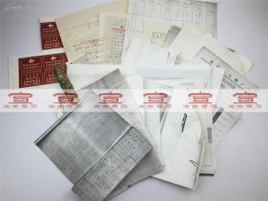 北京火柴厂科技旧档:老商标设计原稿《高级火柴设计墨稿:世界美食中心》等相关设计稿一组合拍(1991年 具体如图)【190923A 31】