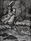 著名版画家、原中国版画家协会副主席 牛文 1965年 木刻版画作品《一心为人民》一幅(尺寸:36.5*27.5cm) HXTX112476