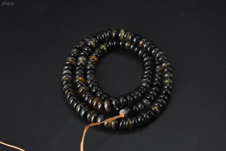 (VA0295)《顶级材料项链》一条 样式精美,简单易单配,周长60cm 单珠尺寸:0.8*0.43cm 总重量32.58g