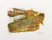 著名藏书票作家、深圳藏书票协会会长 侯秀婷 2012年亲笔签名 北京风情系列藏书票《故宫》一幅( 所售编号:101-120,版号随机,限量500版,作品得自于艺术家本人!)HXTX108983