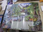 奥林匹克公园地图,美国华盛顿,品相如图,59cmX43cm