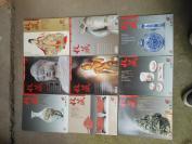 老期刊《收藏》2002年,9册合拍,16开,重6斤,品好如图。