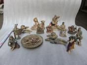 树脂工艺品西洋人物13件  19041731