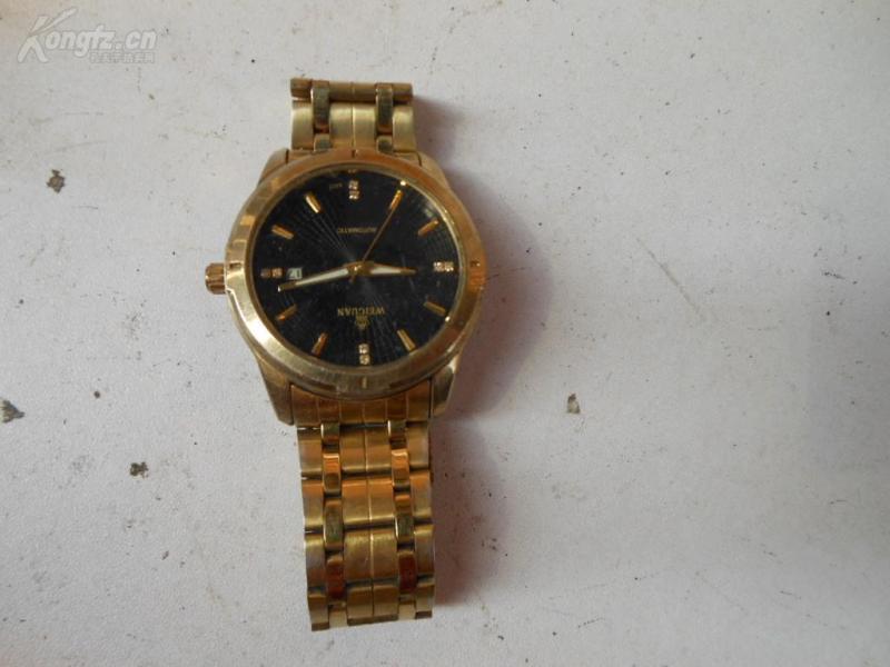 老手表一只。品如图。