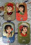 中远上海分公司:少女头像4种