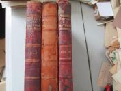 最晚民国间 大16开皮几画册  HISTORY NATIONS  3厚册 缺第二册 书重13斤