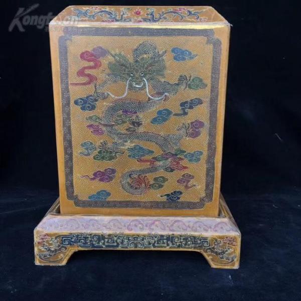 漆器印章盒