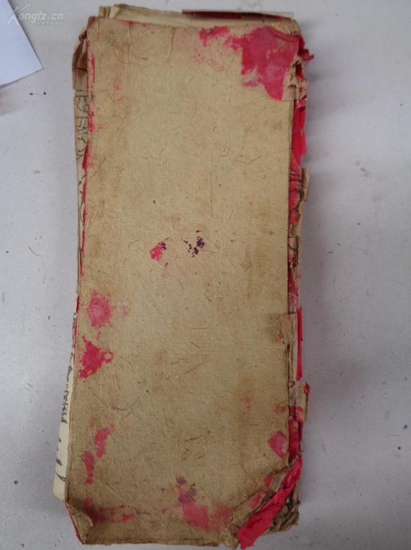 版畫佛經木刻本,1厚冊全,冊頁,書名不祥,品如圖。