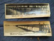 H 武汉长江大桥老照片一组10张,展示武汉长江大桥建成及通车的场景。