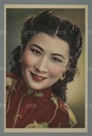 民国时期 永华影业公司敬赠 著名歌女 王熙春 彩色画片 一张  HXTX115669