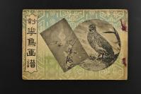 (乙1896)《少年花鸟画谱》1册全 坂田耕雪 坂田耕雪 出生于金泽。他的真名叫坂田万助。在成为尾形月耕的学生后,他专攻人物画。《大坂每日新闻》是他曾经投插图稿的出版物之一。他在大坂-关西一带的艺术圈曾经非常活跃。明治三十四年 1901年 中村芳松 钟美堂本店 尺寸18.5*12.5cm