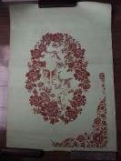 70—80年代【手绘织绣图案设计稿,大小17张】有南京中兴源丝织厂选用,周永建设计稿
