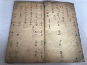 """清抄本""""古代医治马的医方药方""""一册。行书精写,版本稀少!"""