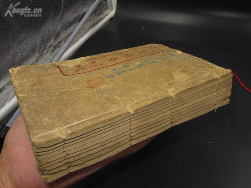 9650民国13年版画石印本《石头记 又名绘图 红楼梦》120回十册全套