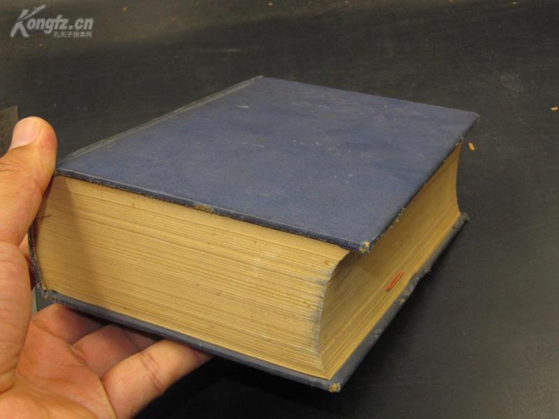 【民国好书 品相佳美】9779民国平装书《现代外国人名辞典》民国22年,1厚册全,约1200页,品好如图。