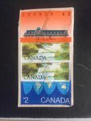 4张使用过的《加拿大邮票》