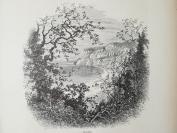 1878年木刻《 尚克林,怀特岛,英格兰》(shanklinl)---选自《如画的欧罗巴》,31.5*24厘米--精美,漂亮,高质量