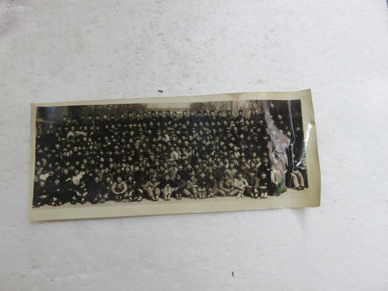 200多人青年集體老照片一張19072343這么多人好少見
