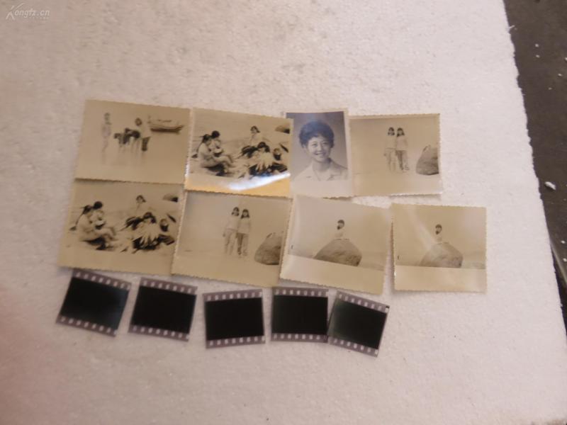 美女老照片8張和膠卷底片5張19072333