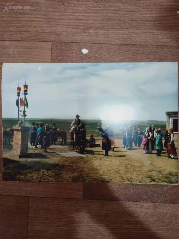 民俗參展照片 尺幅巨大 蒙古族民族習俗 q080139