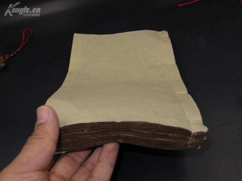 7144很少見的教育女孩的書 清刻本巨厚一冊新訂醒閨編 此書是警醒婦女的寫刻本 非常稀缺 巨厚寫刻本 當可收藏