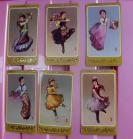 绘画版民族舞蹈1套6枚,中国天津