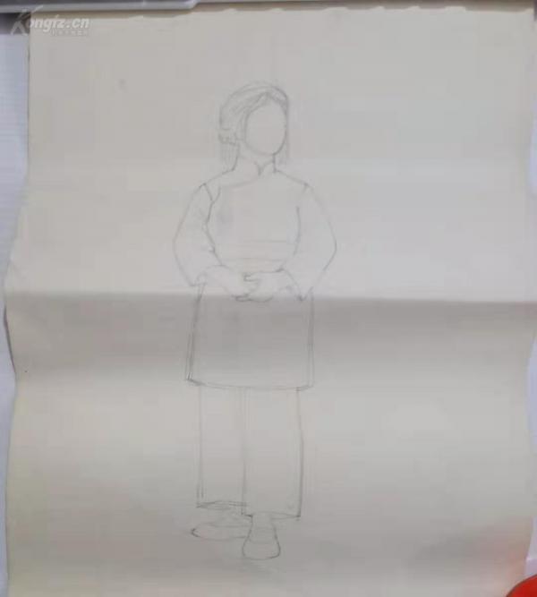 素描畫一張 c081027