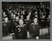 1955年 徐向前元帅、聂荣臻元帅在授衔仪式上 照片一大张(尺寸:31*38.8cm)HXTX300604