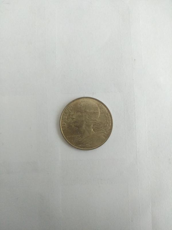 1989年法國硬幣20分外國原包硬幣紀念幣