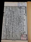 【大部头全套】民国白纸精品【汉书补注】一百卷,卷首一卷,原装四函 40册一套全,有名家朱笔 墨笔双色精美批注多处,为研究、学习西汉史的重要资料。