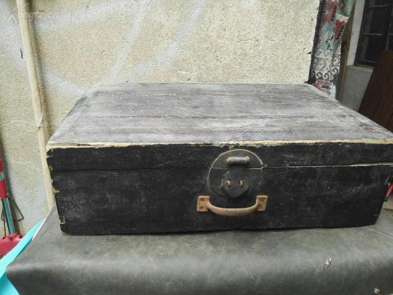 民国老木箱