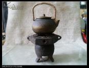 拍套小铁壶小铁炉子【太上老君的六角八卦炉】,古香古色,雅俗共赏,铁炉子