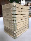 明治九年木刻全汉字《日本外史》12厚册大全套。内收18幅铜板彩色地图!品相完好