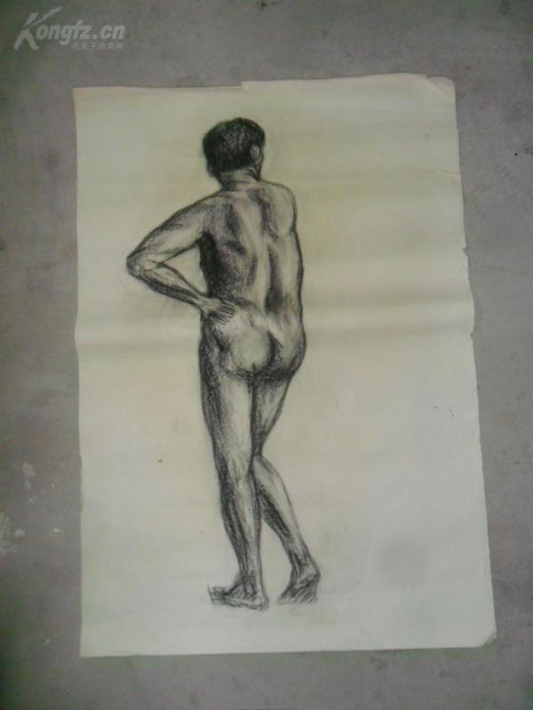 上世纪八十年代,素描人物(003).