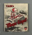 1945年 援华美军 飞虎队《Yank`s magic carpet(美国佬的魔毯)》外文版宣传册一册 HXTX302172