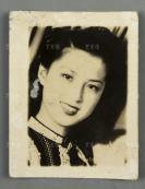 著名明星 胡枫 老照片 一张(背面有原藏者手迹)HXTX302463