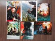 【野战女兵,彩色艺术照片,6张】
