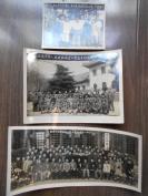 老照片【50年代,南京工业局合影照片,3张】团员,下乡农业劳动