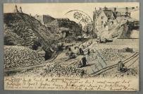 1906年 德国客邮实寄片 一件(有潍县日月戳及赵村碑型戳,山东潍县寄青岛)HXTX302710