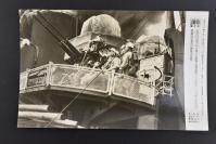 (乙4316)二战史料《读卖新闻老照片》1张 烧付版 1944年1月21日 印度洋上的日本海军开枪扫射盟军大编队 黑白历史老照片 二战老照片 读卖新闻社