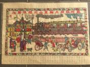 法国回流,1950年代年画《苏州铁路火轮车公司开往吴淞》