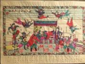 法国回流,1950年代年画《迷人馆捉拿九花娘》