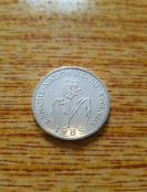 卢旺达 1法郎 蜀黍 1985年