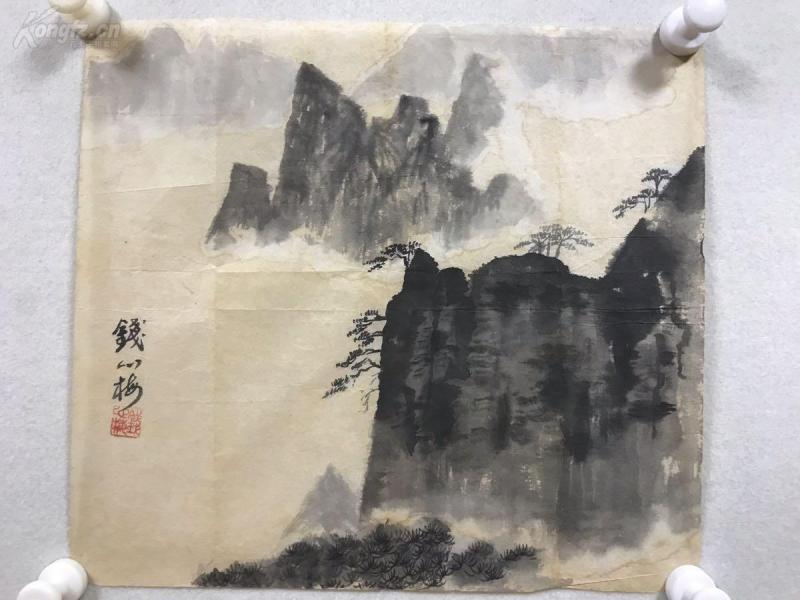钱心梅钱松岩之女,国家一级画师,秉承家学,以山水画着名,是钱松岩书画鉴定的权威。