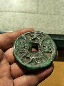 元代稀有古钱币,大元至治,青铜古币,收藏多年品相极好!某平台过万价格的!